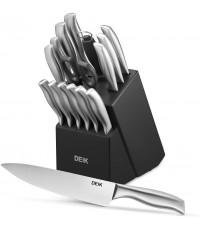 DEIK : DEKKF-H8002* ชุดมีดทำครัว Classic Stainless Steel Set of 16