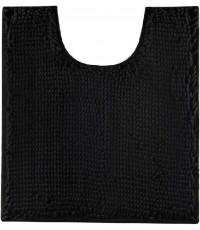 FINDNEW : FDNLBR-BLK* พรมเช็ดเท้า Luxury Contour Bath Rugs Black, U Shape 20x24 inch
