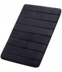 FINDNEW : FDNMBM-BLK* พรมเช็ดเท้า Memory Foam Bath Mat (16 X 24 inch, Black)
