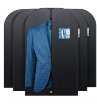 FU GLOBAL : FGBSB001* ถุงคลุมเสื้อผ้า Garment Bag Covers 42 inch, 5pk
