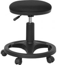 Flash Furniture : FLFWL-905DG-GG* เก้าอี้สำนักงาน Black Ergonomic Stool with Foot Ring