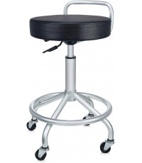 Seville Classics : SVCSHE18294B* เก้าอี้ UltraHD Cushioned Pneumatic Work Stool