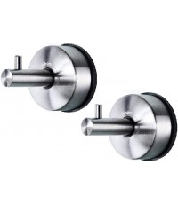 YOHOM : YHMYB2172SA* ตะขอแขวน Stainless Steel Vacuum Suction Cup Hooks 2pk.