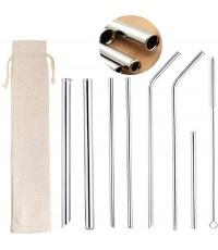 ZFITEI : ZFT180426* หลอดสแตนเลส Stainless Steel Metal Straws