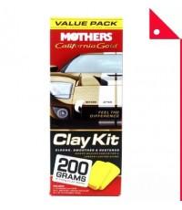 Mothers : MTH07240* ชุดขจัดคราบสีรถยนต์ Mothers California Gold Clay Bar System
