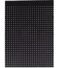 WallPeg : WLPAM206* กระดานเพ็กบอร์ด WallPeg Black Pegboard Panels 24x32 Inch. 1pk.