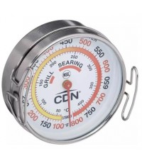 CDN : CDNPGTS800X* เทอร์โมมิเตอร์วัดอุณหภูมิอุปกรณ์ปิ้งย่าง Product Grill Surface Thermometer, Silve