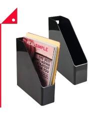 mDesign : MDS 2176* กล่องเก็บเอกสาร Plastic File Folder Bin Storage Organizer 2pk.