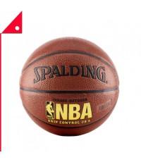 Spalding : SPD74325E* ลูกบาสเกตบอล NBA Grip Control Basketball, Size 6