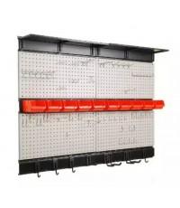 Ultrawall : UTWTNDK29S12* กระดานเพ็คบอร์ดพร้อมกับอุปกรณ์ Ultrawall Garage Storage 48x36 Inch. Pegboa