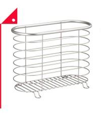 mDesign : MDS 9515* ที่เก็บนิตยสาร Decorative Metal Farmhouse Magazine Holder