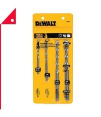 DEWALT : DWT DW5204* ชุดดอกสว่าน Masonry Drill Bit Set, 4-Piece