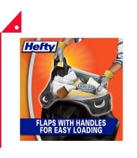 Hefty : HFTE24536* ถุงขยะ Load and Carry Contractor 42 Gallon, 26 Count