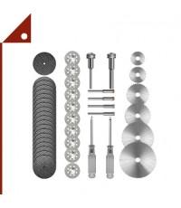 Kuenuilr : KNLAMZ001* ชุดใบตัด Cutting Wheel Set for Rotary Tool, 36-pcs.