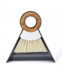 Full Circle : FLCFC14608W* อุปกรณ์ทำความสะอาด Tiny Team Mini Dustpan and Brush Set, White