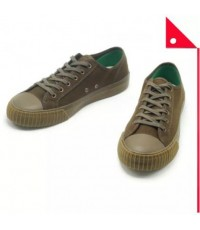 Pf Flyers : PFFPM19OL3L-GT รองเท้าผ้าใบ Pf Flyers Center Lo Unisex Shoes Green With Tan