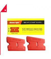 Mini Scraper : MSPMS106* ใบมีดพลาสติก Plastic Razor Scraper Blades