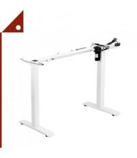 VIVO : VIV V100EW* ขาโต๊ะคอมพิวเตอร์ VIVO White Electric Stand Up Desk Frame Workstation