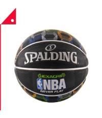 Spalding : SPD71072E* ลูกบาสเกตบอล NBA SGT Neverflat Hexagrip, Size 7