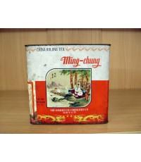 กระป๋อง ใบชา CHINA OOLONG TEA