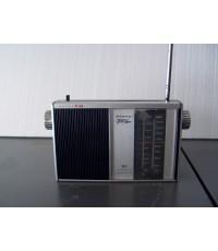วิทยุโบราณขนาดเล็ก รุ่น Sanyo 10F-B16N