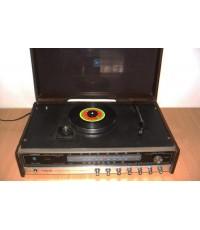 Tanin TPR-2200 AM/FM Stereo Phono เครื่องเล่นแผ่นเสียงธานินทร์ ใช้งานได้ปกติทุกฟังชั่น