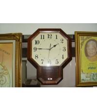 นาฬิกาแขวนโบราณ JECO ของญี่ปุ่น ระบบสั่น ใช้งานได้ปกติเดินดี