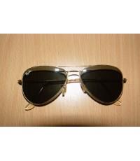 แว่นกันแดด RayBan Aviator BL Made in U.S.A. 52 mm