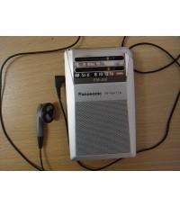 Panasonic มินิพ็อกเก็ต Radio AM/FM ใช้งานได้ปกติ ญี่ปุ่นแท้ สภาพสวยเสียงดีรับคลื่นFMได้2ประเทศ