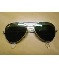 แว่นกันแดด RayBan Aviator U.S.A. BL 52 มม. เลนส์สภาพดีมากไม่มีรอย
