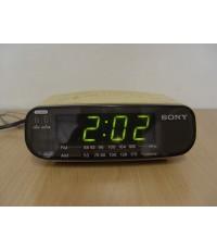 วิทยุ-นาฬิกาปลุก SONY ICF-C212 ใช้งานได้ปกติทุกฟังชั่น