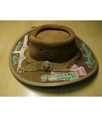 หมวกคาวบอยจิ๋ว Cowboy Hat หนังแท้ Made in Australia ของแท้นำเข้าสำหรับโชว์