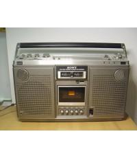 วิทยุหิ้วใหญ่ SONY CF-575S Stereo Mpx สภาพสวย วิทยุ AM/FM ใช้ได้ดีมากรับฟังชัดเจน เสียงดีมาก
