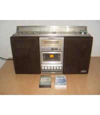 วิทยุวินเทจ SONY CFS-85S ZILBAP รุ่นใหญ่ระบบสตอริโอ เทป/วิทยุ ใช้งานได้