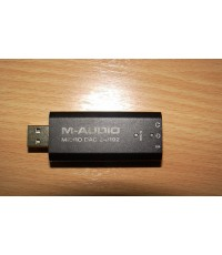 USB M-Audio Micro DAC 24bit/192 ใช้ฟังเพลงจากคอมพิวเตอร์เป็นเสียง Hi-End Germany เสียงดีมากใช้งานได้