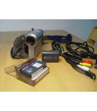 SONY DCR-TRV19E กล้องถ่ายวิดีโอ กล้องVDO แบบม้วนเทปDV ใช้งานได้ปกติ