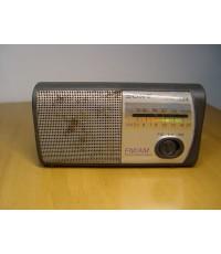 วิทยุSONY โบราณ FM AM พ็อคเก็ตขนาดเล็ก ใช้งานได้ปกติ เสียงดี
