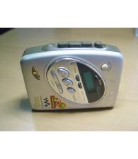SONY Walkman WM-FX288 Maga Bass Cassette-Radio ใช้งานได้ปกติ