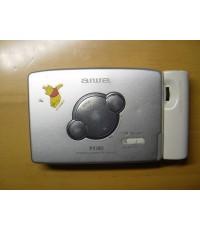 Aiwa Walkman PX380 Stereo Cassette Tape Player ใช้งานได้ปกติเสียงดีมาก