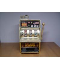 Small Slot Machine ตู้สล็อตแมชชีนโบราณขนาดเล็ก งานญี่ปุ่นแท้ ใช้งานไม่ได้แล้ว