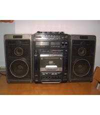 วิทยุหูหิ้ว HITACHI Boombox รุ่น TRK-9150W เครื่องใหญ่และหนัก เสียงดีมาก