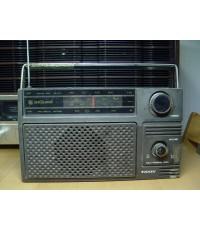 วิทยุโบราณ TANIN T-121 ธานินทร์ AM 7 Transistor ใช้งานได้ปกติ
