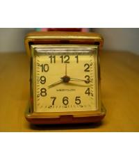 นาฬิกาปลุกพกพา Westclox ไขลาน ใช้งานได้ปกติ U.S.A