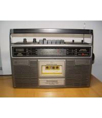 วิทยุ-เทป Telefunken CR-7100 Stereo ใช้งานได้ปกติทุกฟังชั่น