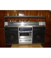 วิทยุเทป Aiwa Boombox CS-660S รุ่นใหญ่ ใช้งานได้ปกติ