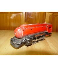 ของเล่นหัวลากรถไฟเหล็ก งานเก่าญี่ปุ่น ใช้แบตเตอรี่ ใช้งานได้หรือโชว์