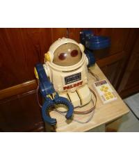 หุ่นยนต์ญี่ปุ่นโบราณ PALBOT ใช้ถ่านแบตเตอรี่ใช้สายรีโมทควบคุม ใช้งานได้ปกติ