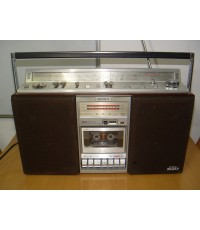 วิทยุเทป SONY CFS-85S ZILBAP Stereo ใช้งานได้ทุกฟังชั่น