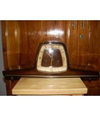 นาฬิกาหัวเตียง เยอรมัน Hermle 2 ลาน ใช้งานได้ปกติ
