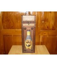 กล่องเหล้าทำจากไม้ Vintage ของนอก สภาพดีมาก